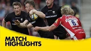 video rugby Gloucester v London Irish - Aviva Premiership Rugby 2014/15