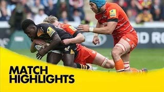 video rugby Wasps v Leicester Tigers - Aviva Premiership Rugby 2014/15