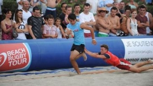 reportage rugby FFR BEACH RUGBY TOUR 2013