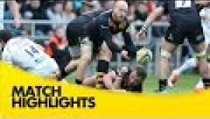 video rugby Wasps v Exeter Chiefs - Aviva Premiership Rugby 2014/15