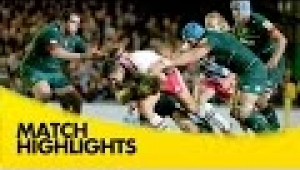 video rugby Leicester Tigers v Harlequins - Aviva Premiership Rugby 2014/15