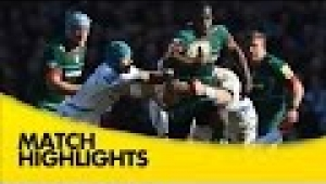 video rugby Leicester Tigers v Exeter Chiefs - Aviva Premiership Rugby 2014/15