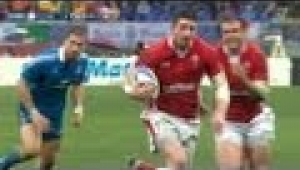 video rugby Italy v Wales Full Match Report 23 Feb 2013